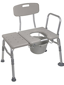 Combination Transfer Bench/Commode 83314