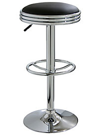 AmeriHome Soda Fountain Style Bar Stool