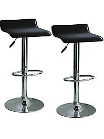 AmeriHome Adjustable Height Bar Stools