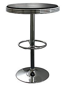 AmeriHome Soda Fountain Style Bar Table