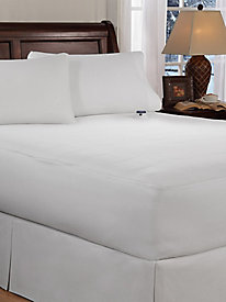 Soft Heat Microplush Top Mattress Pad