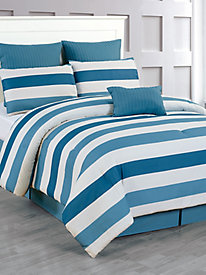 Quilted Oversize & Overfilled Comforter Set - Darby