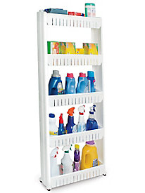 5-Tier Slim Slide-out Pantry