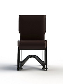 Armless Metal Chair with Royal-EZ Mobility Assist 18-inch