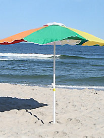 7-Foot Round Beach Umbrella