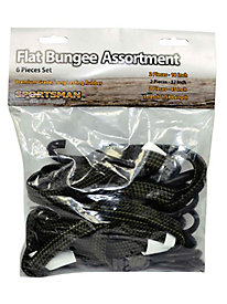 Sportsman 6 Piece Flat Bungee Set