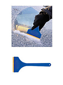 Snow Joe� Edge Ice Scraper with Brass Blade