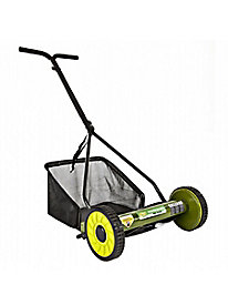 Sun Joe� Mow Joe 16-in. Manual Reel Mower with Catcher