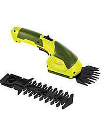 Sun Joe� Hedger Joe 2-in-1 Cordless Grass Shear + Hedger