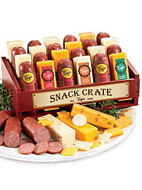 Snack Crate Cheese&Sausage-12-Pc