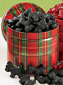 Licorice Scottie Dogs-Black 14 oz