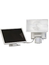 Solar-Powered 80 LED Motion-Activated Outdoor Security Floodlight