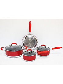 Gourmet Chef Induction Ready 7 Piece Non Stick Cookware Set