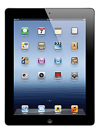 Apple iPad® 3, 16 GB, Wi-Fi, Black (MC769LL/A)