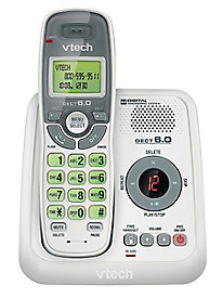 Vtech DECT 6.0 Cordless Phone with Answering System and Caller ID/Call Waiting, with 1 Handset