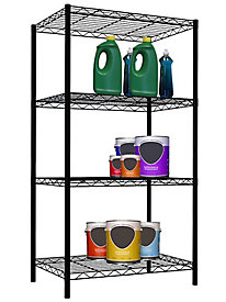 Home Basics 4-Tier Steel Wire Shelving