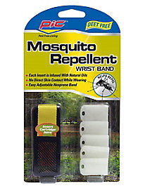 Pic Mosquito Repellent Wristband with 5 Refills
