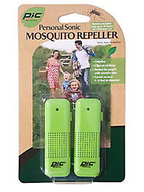 PIC Personal Sonic Mosquito Repeller, 2-Pack