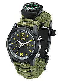 Yuze™ Paracord Survival Watch