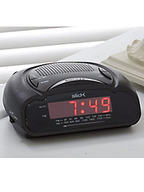 Slick LED Clock-Radio