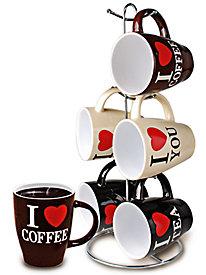 I Love Mug Set