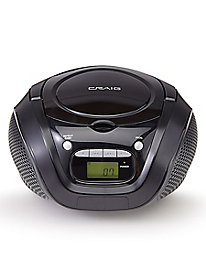 Craig CD Boombox with AM/FM Radio