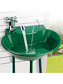 Ideaworks� 2-In-1 Outdoor Fountain & Faucet
