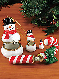 Large Porcelain Keepsake Ornaments
