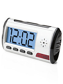 Alarm Clock with Hidden Video Cam