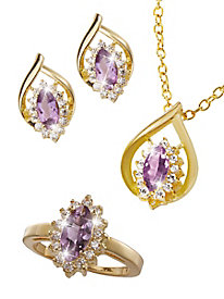Purple Majesty� Genuine Amethyst Set