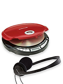 Craig® Personal CD Player with High-Quality Headphones