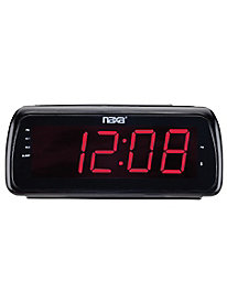 Naxa® Bluetooth® Dual Alarm Clock Radio