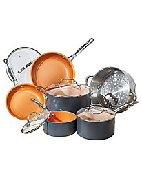 Gotham Steel™ 10-Pc. Cookware Set