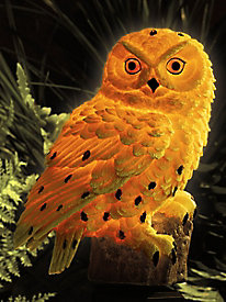 Sweet Sentinels Solar Owl Pest Repeller