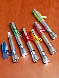 Set of 6 Flashlight Pens