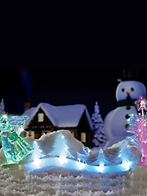 Christmas Cheer Light-Up Decorations