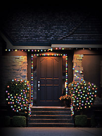 100 Solar LED Holiday String Lights