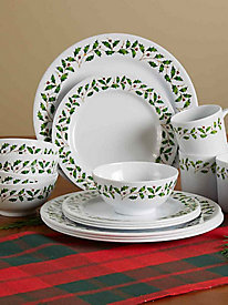 16-Pc. Melamine Dinnerware Set
