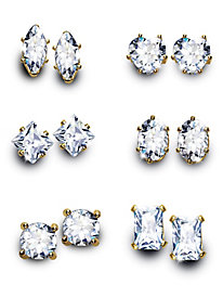 Genuine Cubic Zirconia Earring Collection