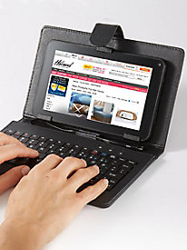 "Keyboard Case for RCA 7"" Touchscreen Tablet"