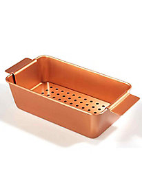 Titanium-Infused Copper Loaf Pan with Insert
