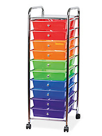 Sunbeam� Rolling 10-Drawer Caddy Cart