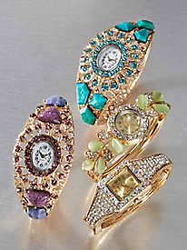 Crystaluxe™ Bangle Watch