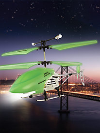Glow-in-the-Dark Night Hunter RC Helicopter