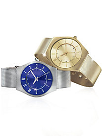 Lucerne� Ultra Slim Mesh Watches