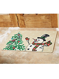Holiday Welcome Mat