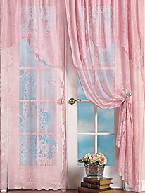 3-pc. Lace Curtain Set