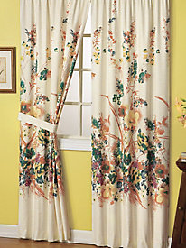 Garden Floral� Thermal Drape Tiebacks