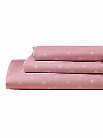 Polka Dot Platinum Sheet Set