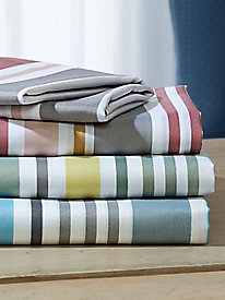 Multi-Stripe Platinum Sheet Set